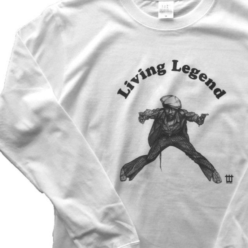 World One【LIVING LEGEND TEE 】(WHITE)