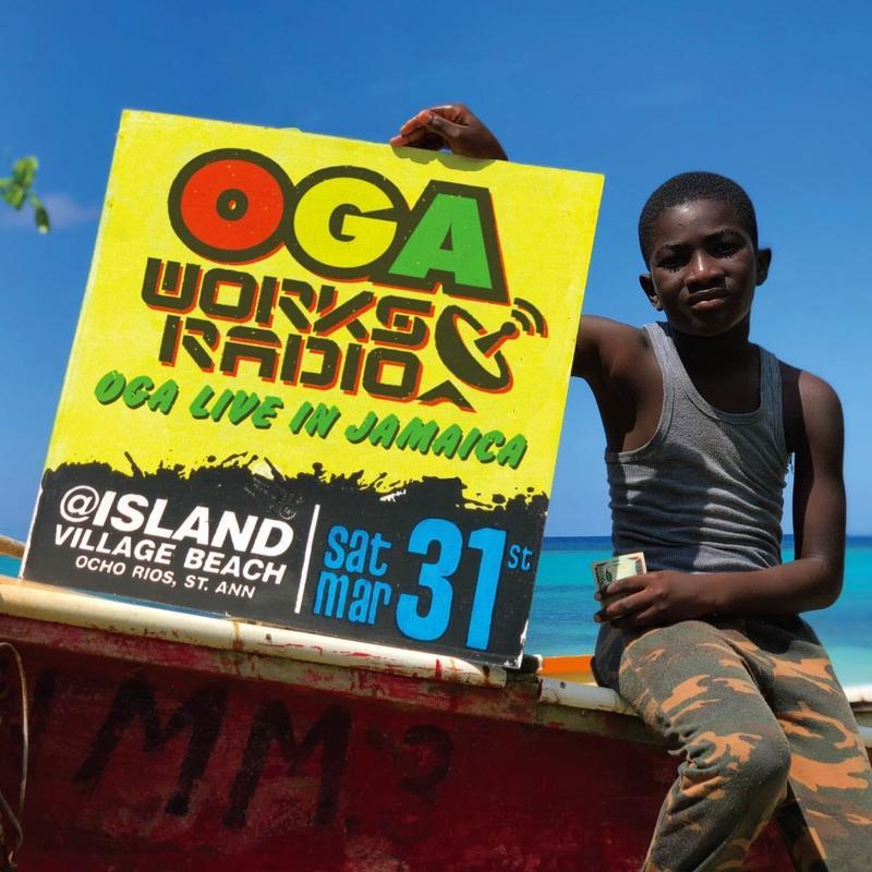 OGA [JAH WORKS]/OGA WORKS RADIO MIX VOL.8  -OGA LIVE IN JAMAICA-