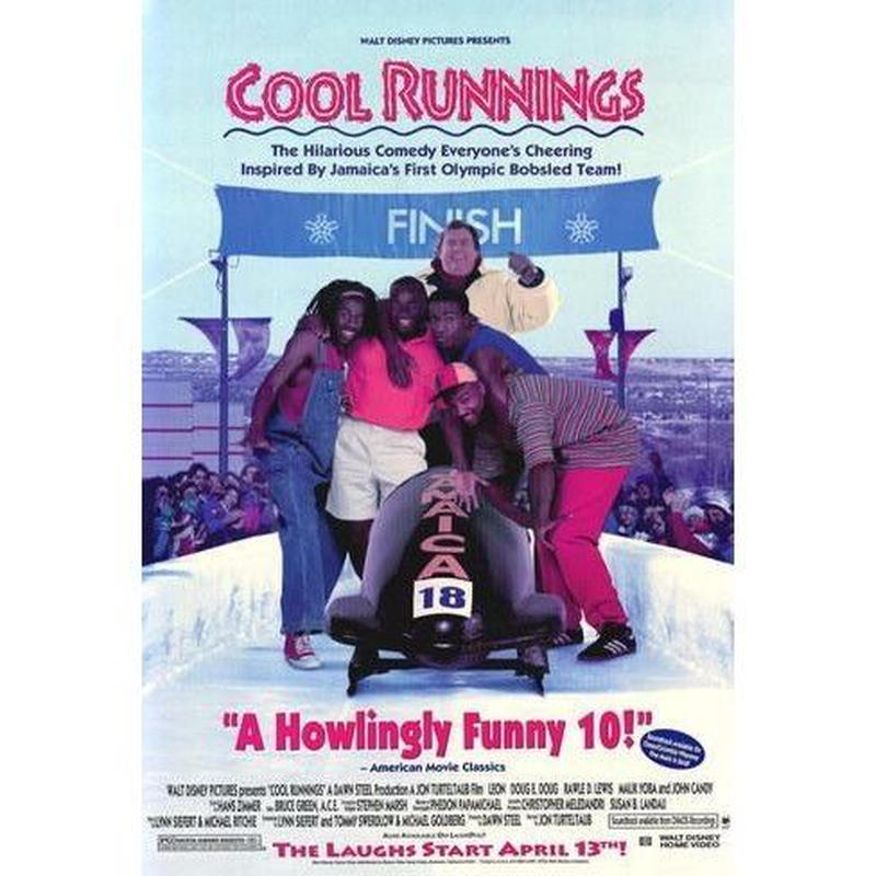 再入荷!!超有名ジャマイカ人出演映画!レアポスター直輸入!「COOL RUNNING」