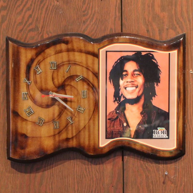 ボブマーリー(BOB MARLEY )壁掛け時計