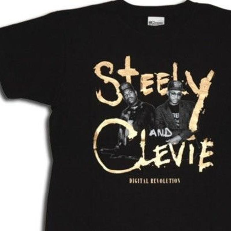 デッドストック 激レア「STEELY & CLEVIE TEE -REGGAE ANTHOLOGY - 」