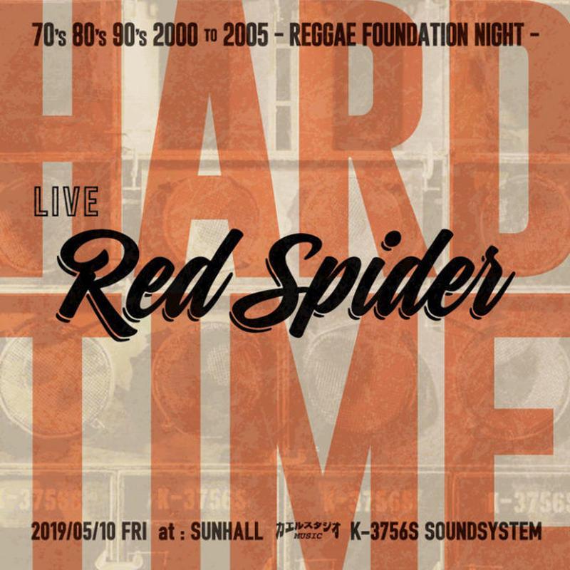 RED SPIDER / HARD TIME 2019【予約】