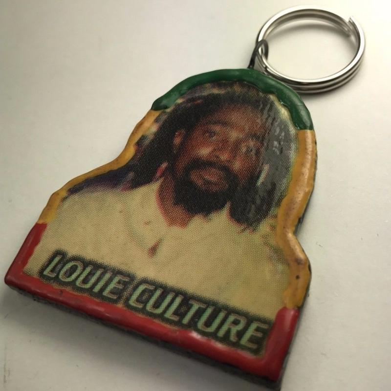 ジャマイカ直輸入 アーティスト キーホルダー LOUIE CULTURE デッドストック