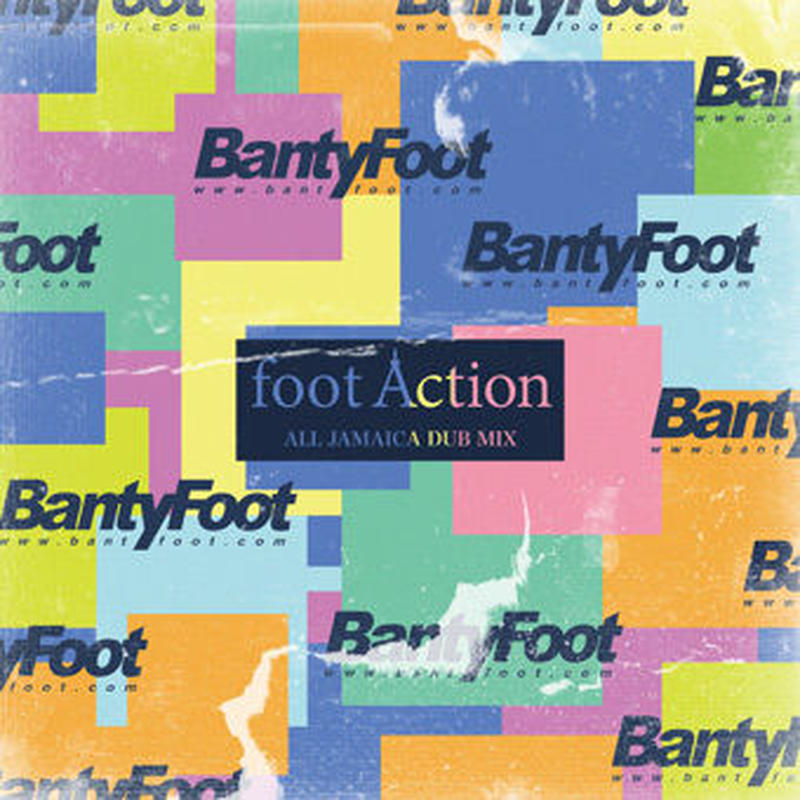 BANTY FOOT /  FOOT ACTION-ALL JAMAICAN DUB MIX-