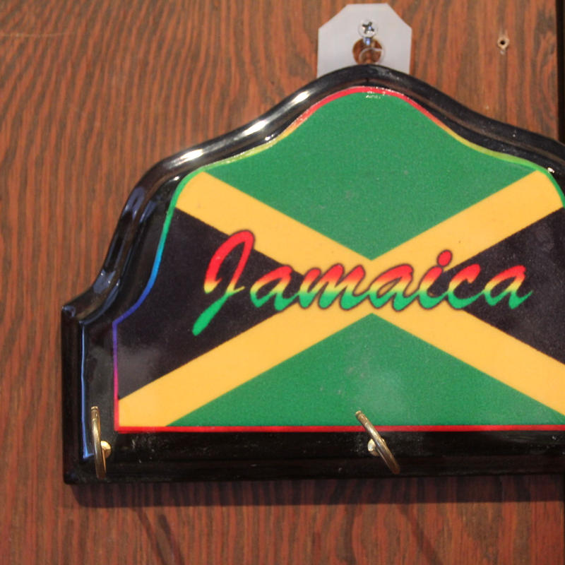ジャマイカ 国旗 鍵掛け 壁掛け