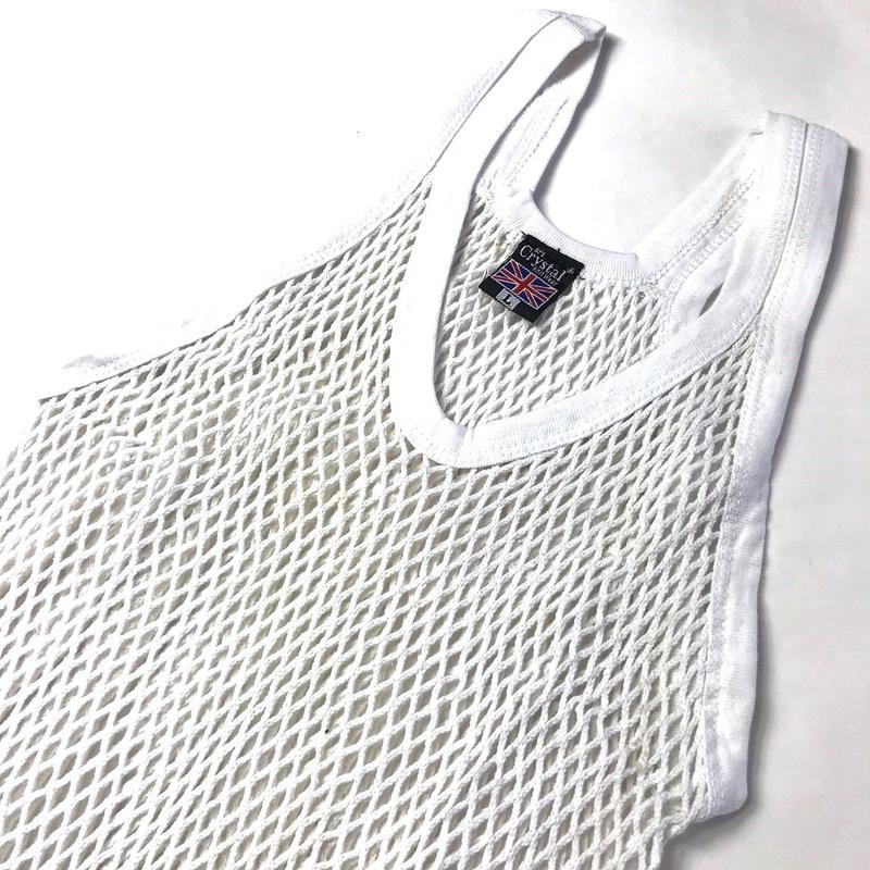 年中ラガマフィン!ジャマイカ直輸入  アミシャツ【CRYSTAL】  WHITE