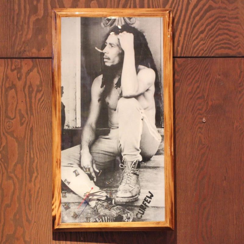 ボブマーリー(BOB MARLEY )CURFEW 壁掛け時計