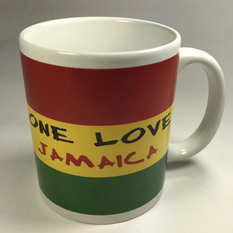 ジャマイカ直輸入 ONE LOVE JAMAICA マグカップ