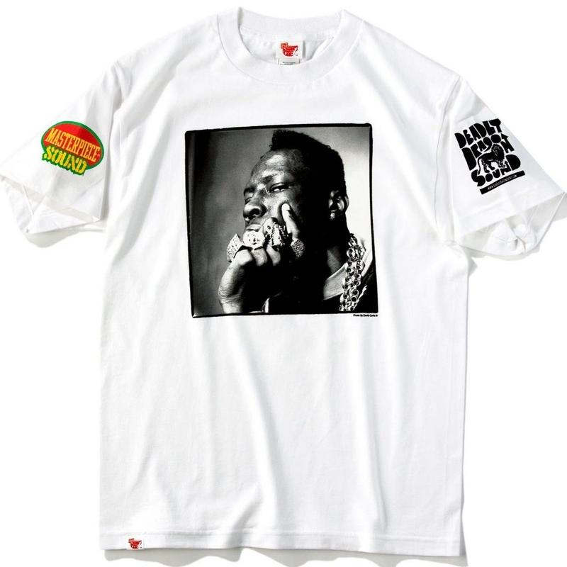 デッドストック 激レア「SHABBA RANKS OFFICIAL T- SHIRTS   」(WHITE)