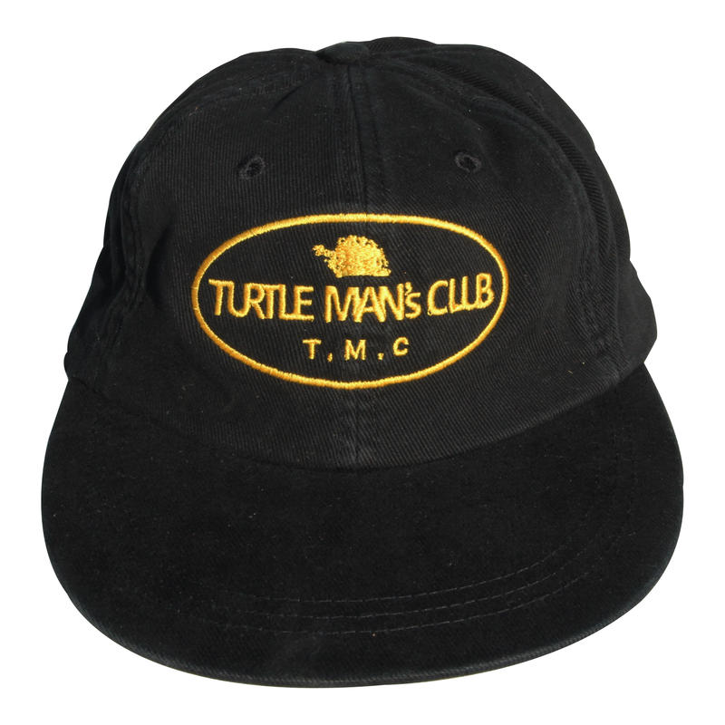 TURTLE MAN's CLUB CAP [BLACK&YELLOW]