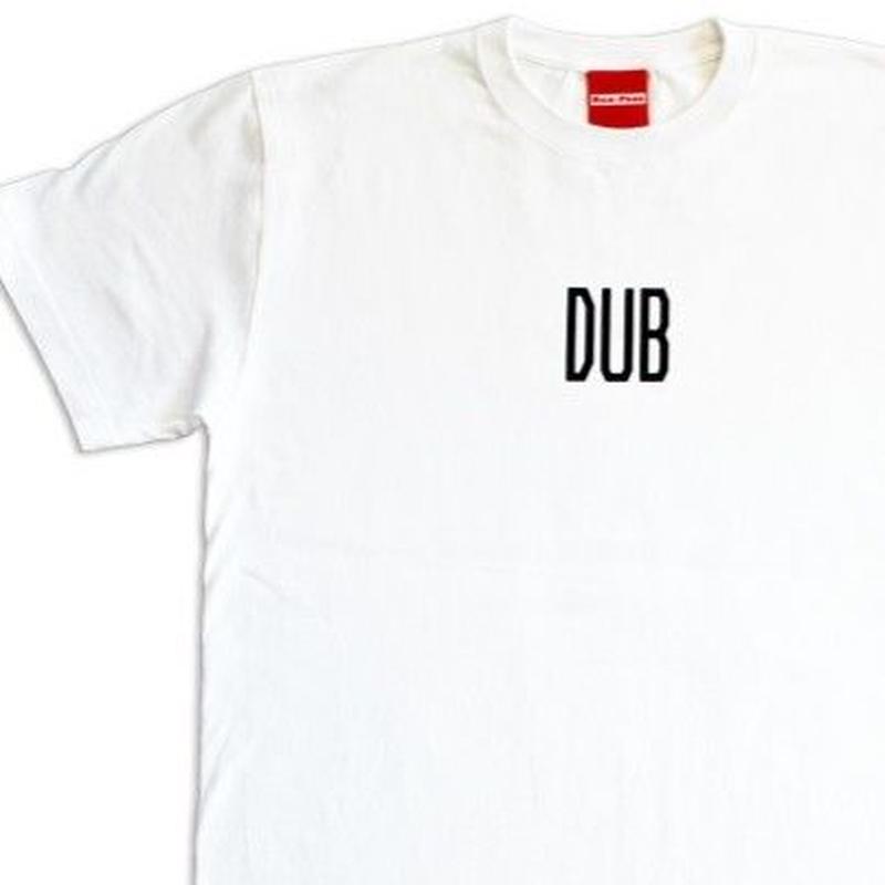 デッドストック レア「DUB  - HISTORY OF JAMAICAN MUSIC TEE-」  缶バッチ付き