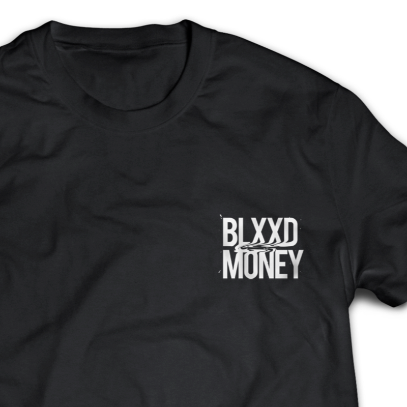 ジャマイカ直輸入  PROTOJE 【Blxxd Square】T-SHIRTS  BLACK