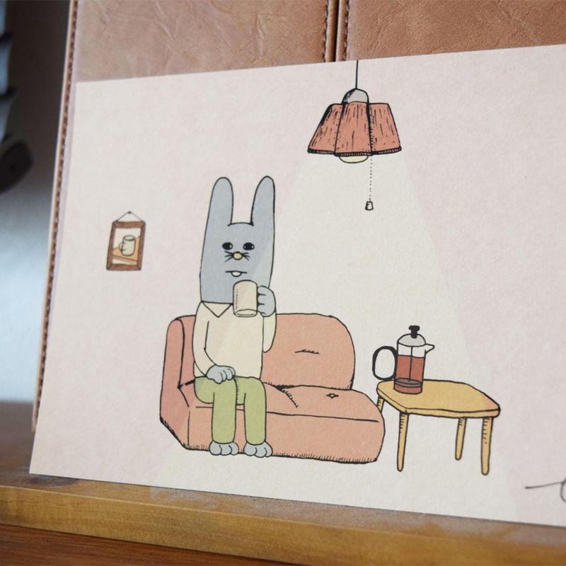 或るオスウサギの歌 イメージ画