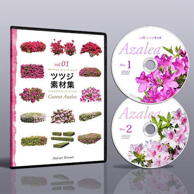 vol.01ツツジ素材集 [DVD]  5a25