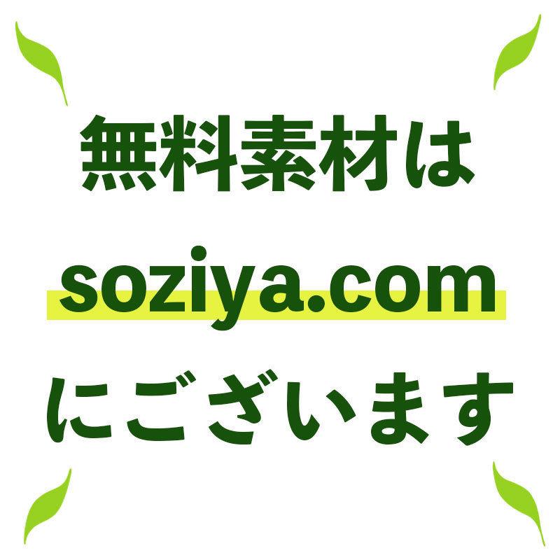 カートには入れないでください!!無料素材は sozaiya.com でダウンロードできます