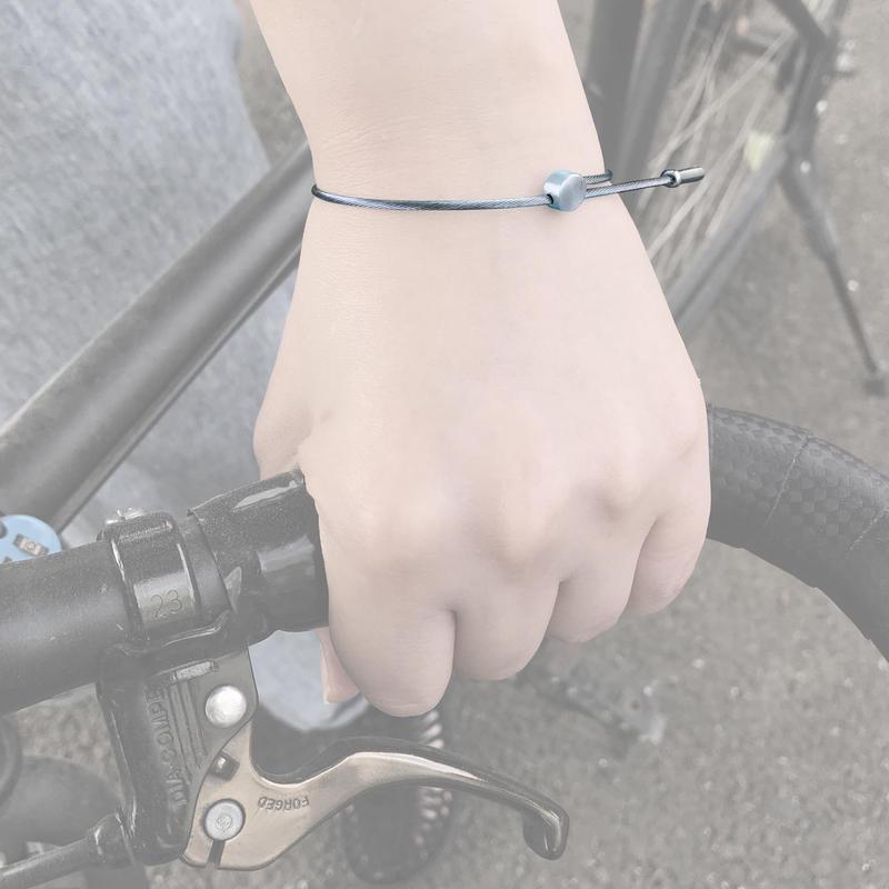 Brake cable bracelet
