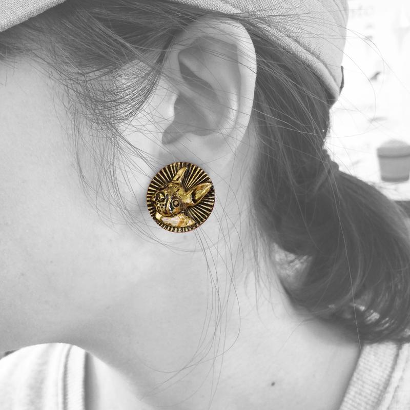 Animal pierced ( earrings)