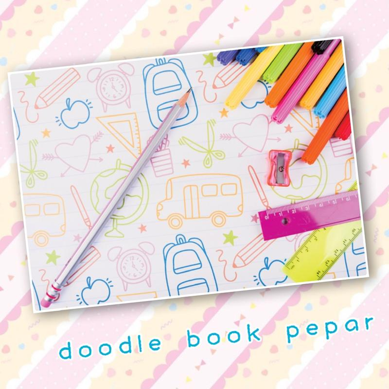 No.89 doodle book pepar