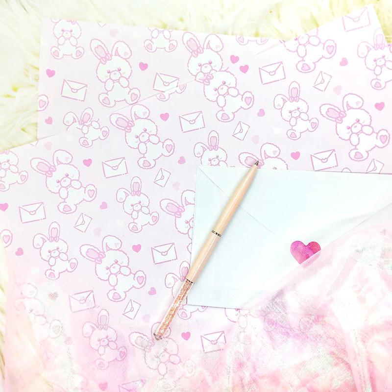 №43 Love letter pepar