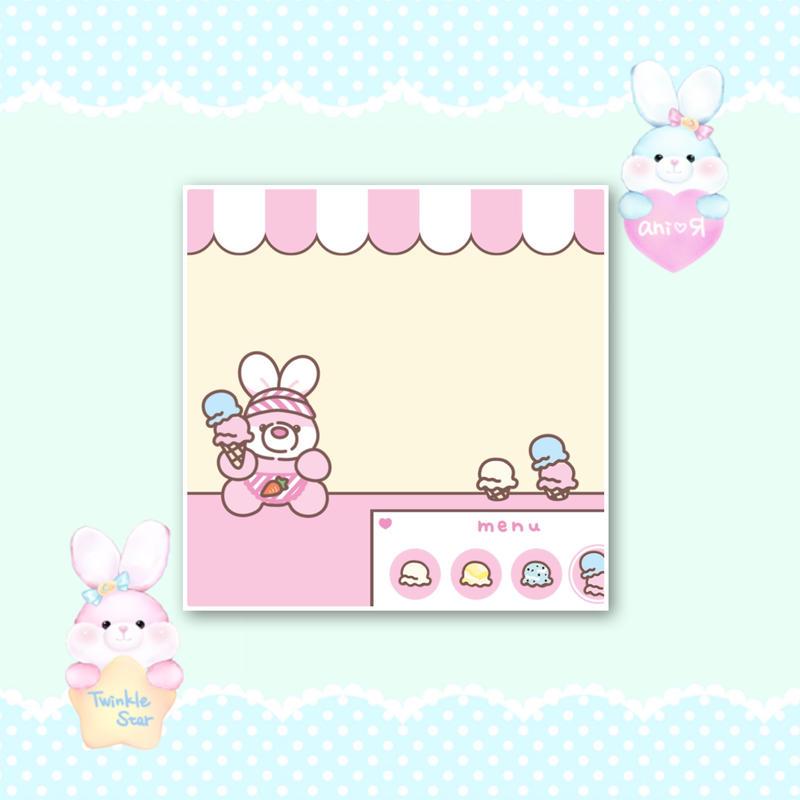 No.84 ice cream shop memo