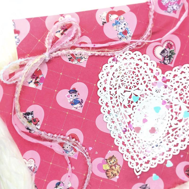 №41 Valentine lovelycats pepar