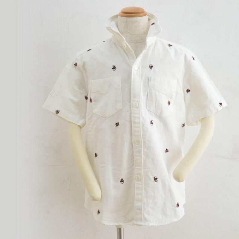 Harf sleeve shirts てんとう虫(160cm)