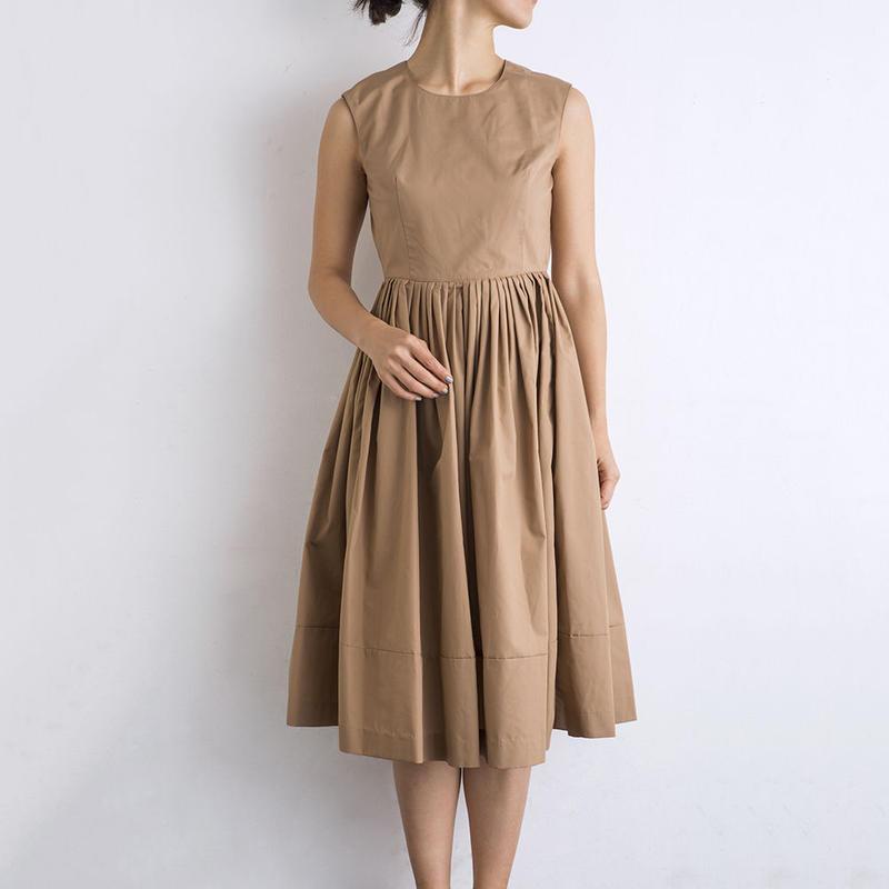 mama dress(ベージュ)2017SS015※再入荷