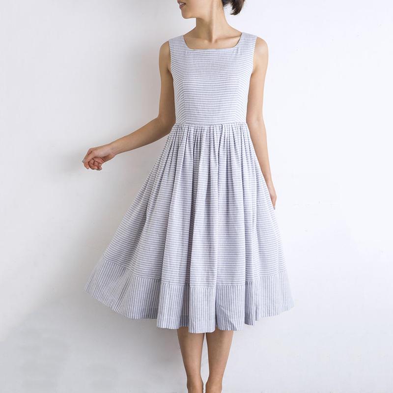 mama dress(ストライプ)2017SS017
