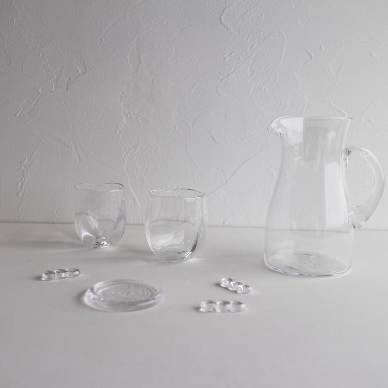 Bamboo glass ピッチャー