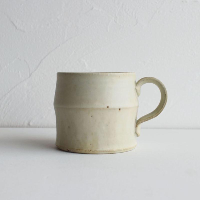河内啓 マグカップ【乳白釉】