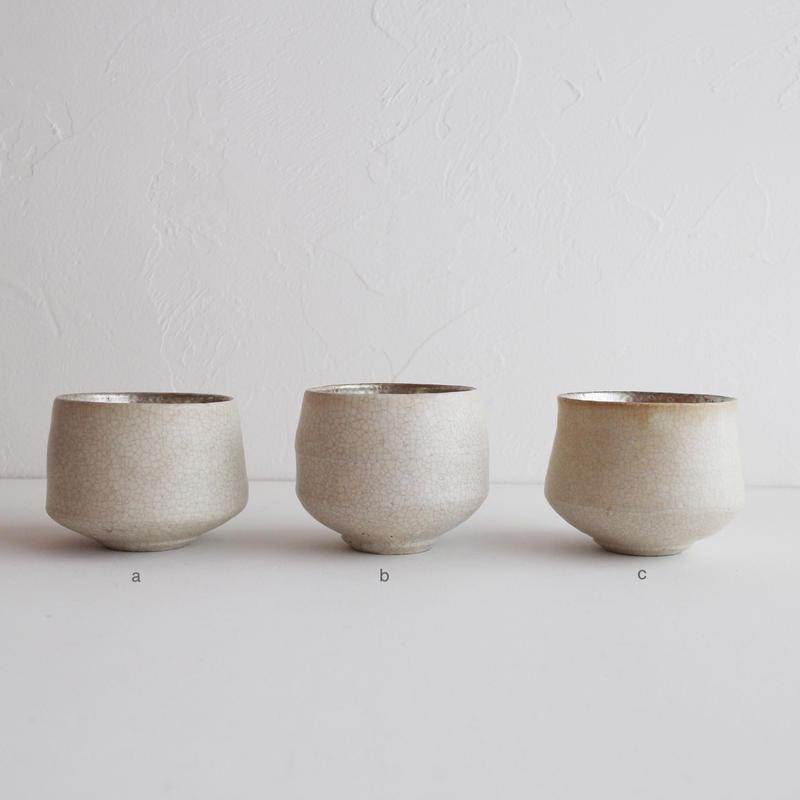 谷井直人 白×銀彩 ロックカップ