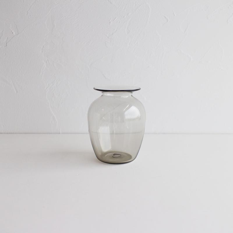 Bamboo glass 三浦侑子 壺(スモーク)