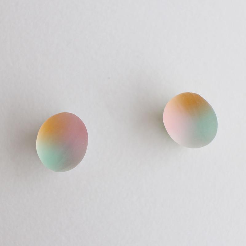 matsurica glass 【pebble】 ピアス