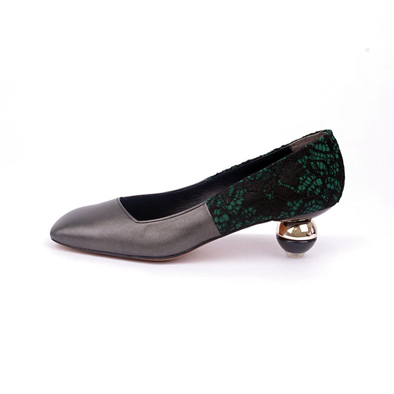 toy heel パンプス**ブラック**22.0・22.5・24.5