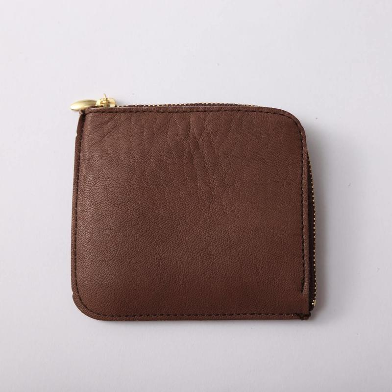 12 ZIP COIN CACE  BROWN