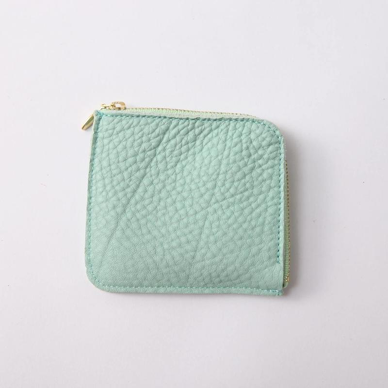 12 ZIP COIN CACE  MINT GREEN