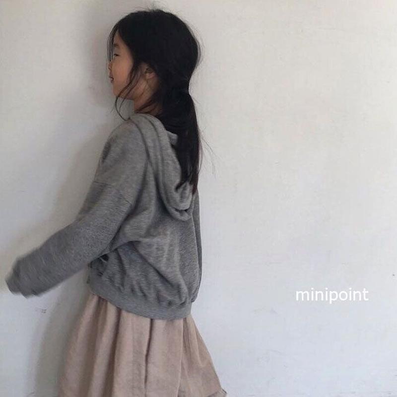 Dolman zip hoodie
