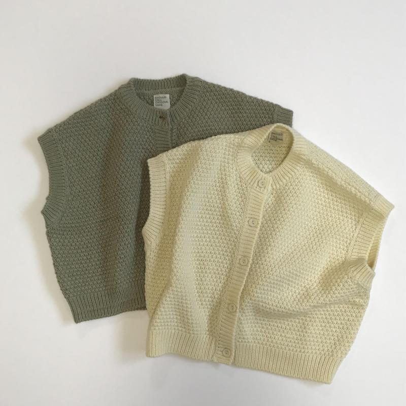 Della knit vest