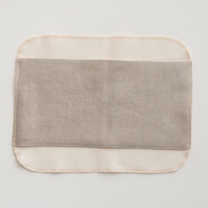 ORGANIC LINEN Sanitary  布ナプキン Square  M
