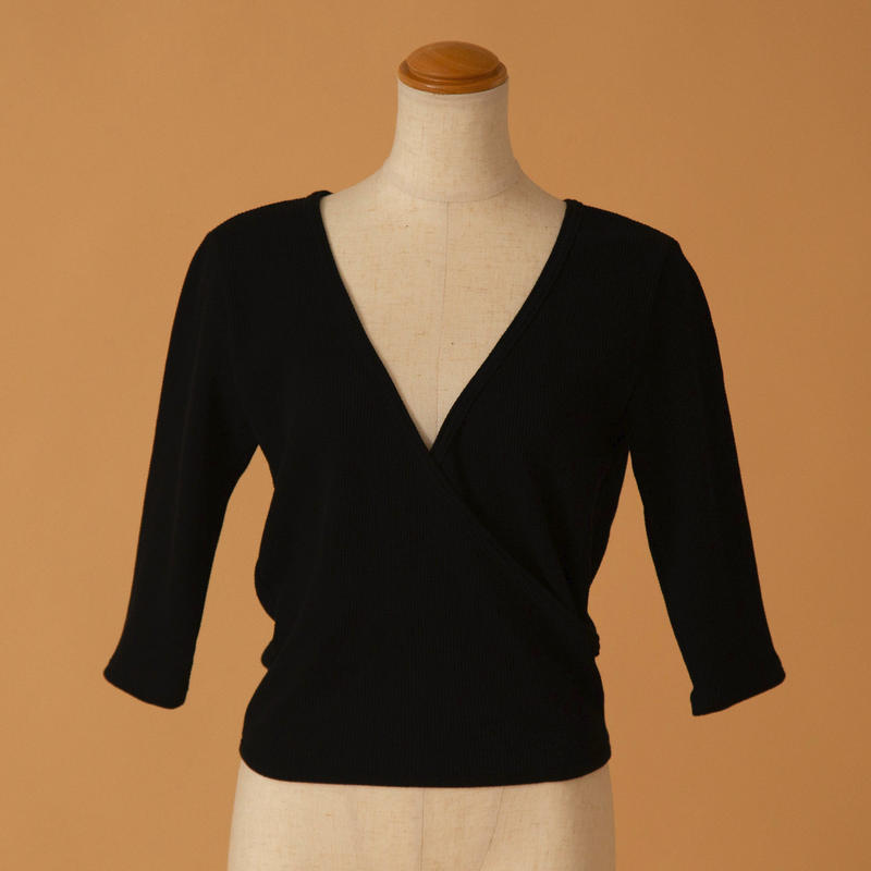 cachecoeur thermal tops(BLACK)