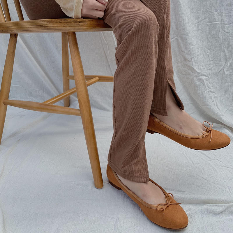 calme original ballet shoes /camel