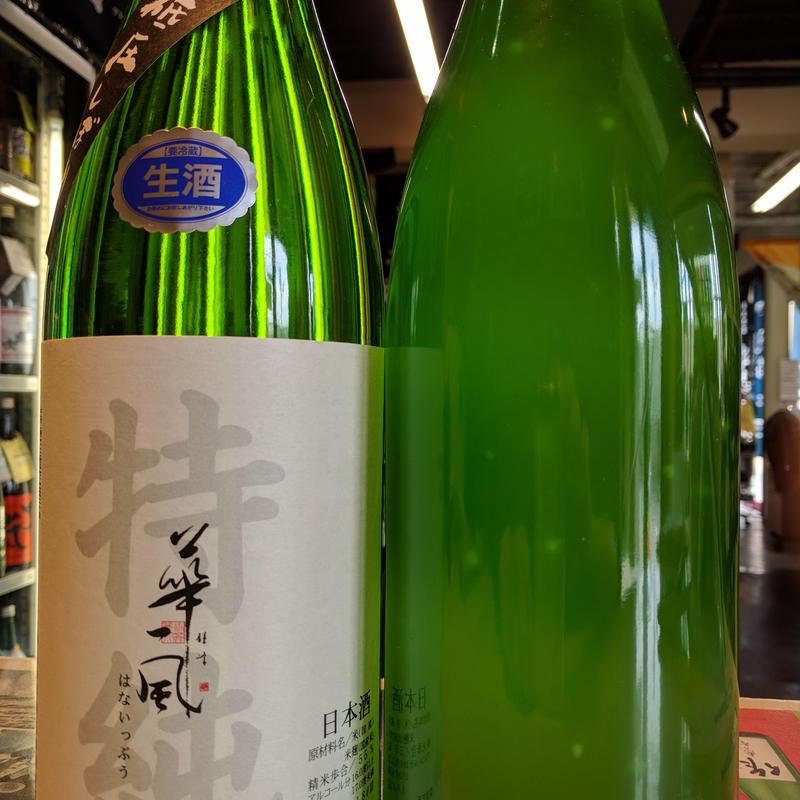 🌟🌟🌟🌟🌟【30by新酒】1.8L 華一風 槽直どり 特別純米生原酒