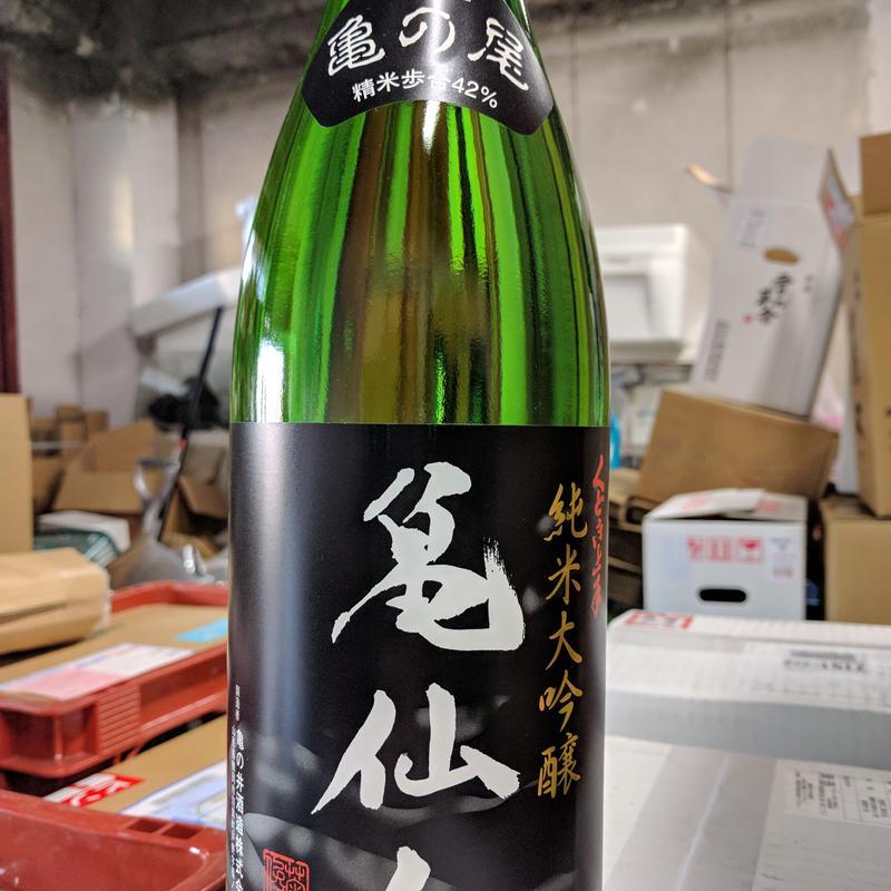【リニューアル42%】1.8Lのみ  くどき上手 亀仙人 純米大吟醸