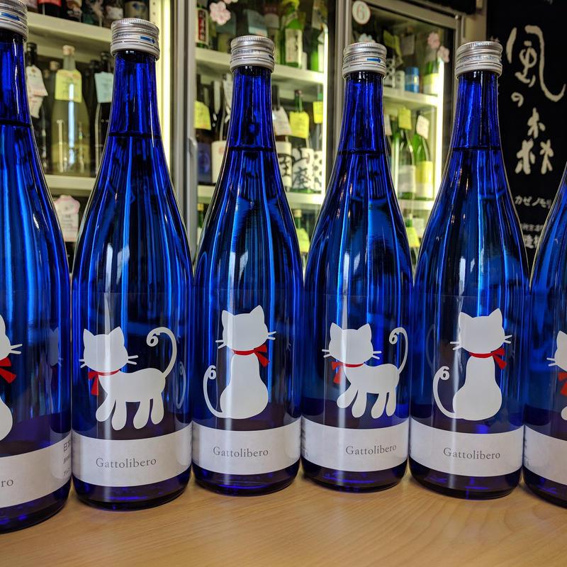 1.8L  十九  Gattolibero(自由猫)特別純米生原酒