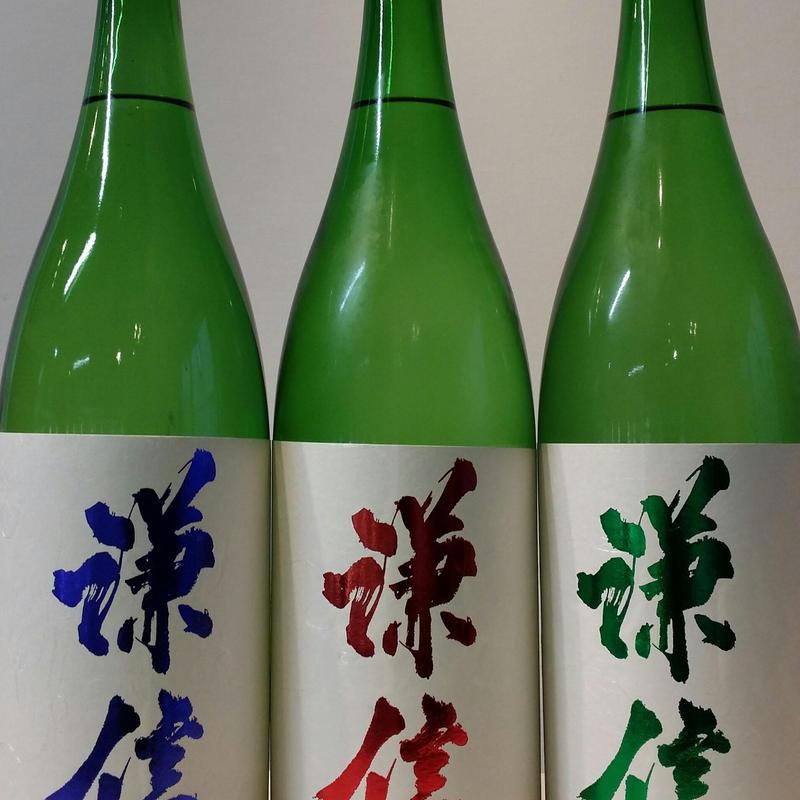 1.8L 謙信   赤   純米大吟醸   山田錦50%生原酒