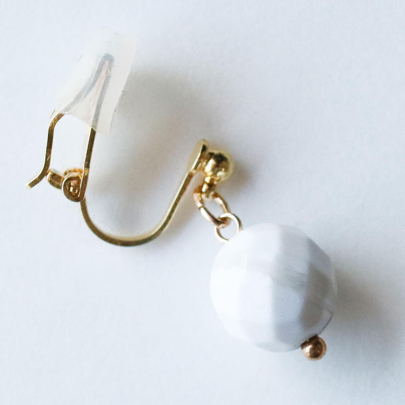 FLUI ONE Earring WHITE
