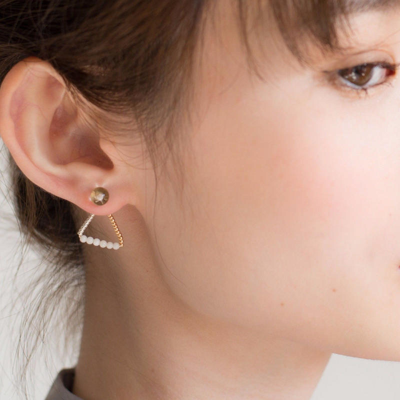 Losso Pierce WHITE ロッソピアス
