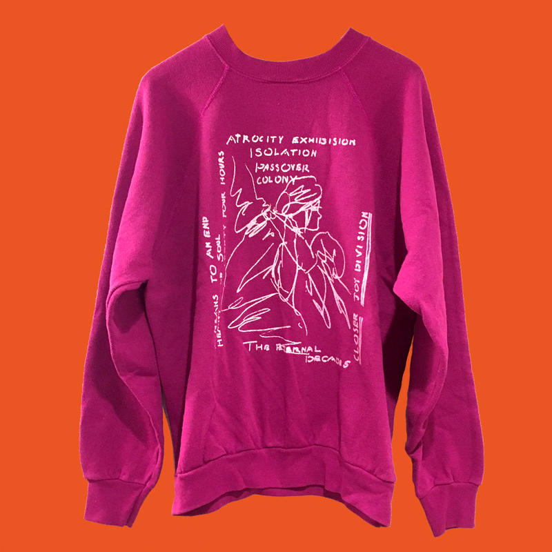 JOY DIVISION  sweat shirt (back print)