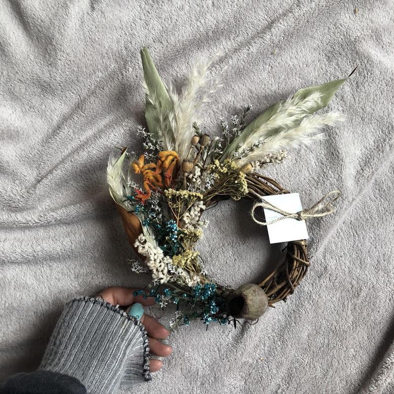 half mini wreath