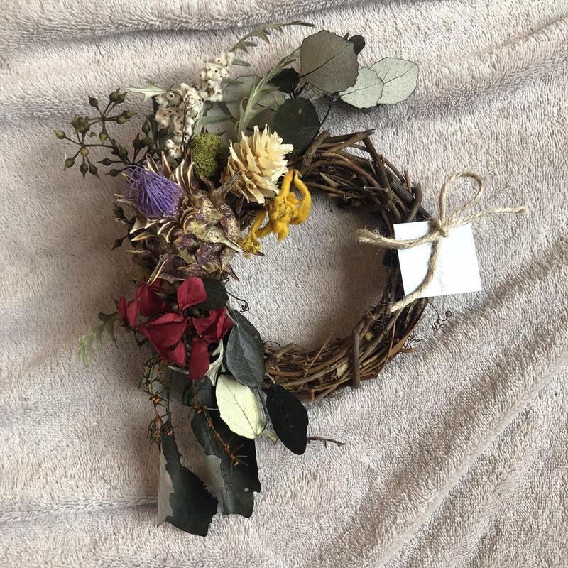 azami mini  wreath
